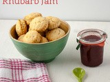 Sweet cream scones, strawberry rhubarb jam & some news