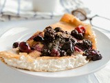 Gluten-Free Tuscan Chestnut Crepes Filled with Sweet Ricotta