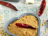 Coconut Idly Podi / Thengai Podi Recipe