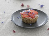 Strawberry mousse mini torte – gltn free – dairy free /// Aardbeien mousse mini taartjes – gltn vrij – zuivel vrij