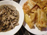 Easy Peasy Gluten Free Chicken and Mushroom Pie (Deconstructed)