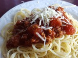 Frieda's Thick & Easy Spaghetti Sauce - Pressure Cook & Stove Top