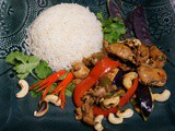 Cashew Chicken (with Zoodels)