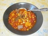 Carbonada (beef with tomato, sweet potato and corn)Carbonada (beef with tomato, sweet potato and corn)