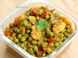 Butter Beans and Green Peas Curry
