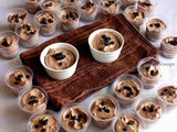 Eggless Chocolate Mousse with Ganache