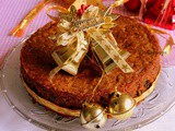 Eggless Christmas Fruit Cake | Eggless Plum Cake