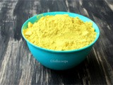 Homemade bath powder for kids