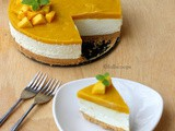 Mango White Chocolate Mousse Cake