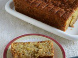 Eggless Banana Bread with Aquafaba