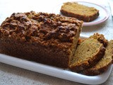 Eggless Butterless Pumpkin Bread