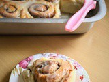 Eggless Cinnamon Rolls Recipe