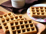 Eggless Whole Wheat Waffles – Video Recipe