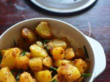 Garlic Potato Roast – Easy Side Dish Recipes