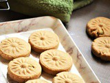 Wheat Cardamom Cookies Recipe