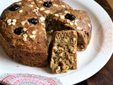 Whole Wheat Oats Banana Bread Recipe