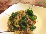 Kale and Sun-dried Tomatoes Quinoa