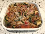 Roasted Vegetables Baked Pasta