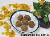 Oats-Corn Flakes Ladoo