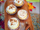 Snickerdoole Cupcakes with Cinnamon-Brown Sugar Frosting