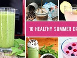 10 Healthy Summer Drinks For When It's Hot af Outside