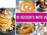 10 Ways You Can Use Veggies in Desserts ( & Make Them Taste Delicious!)