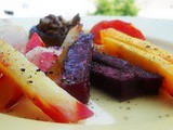 Autumn in a plate - Oven Roasted Vegetables