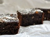 Gluten-Free Vegan Brownies | Guilt-Free too