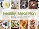 Healthy Meal Plan 18-24 March 2013
