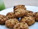 Healthy Whole Grain Cookies with Nuvia Cafe. Perfect Breakfast