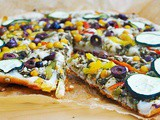 Middle Eastern Gluten-Free Vegan Pizza