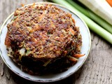Quinoa, Carrot, and Parsnip Cakes