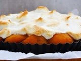Sugar-Free Meringue Tart with Apricots | Gluten-Free | Dairy-Free