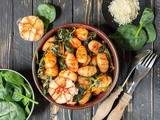 Sweet Potato Grilled Gnocchi