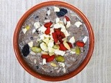 "The Kollath Breakfast | Kollath Chia ""Chocolate"" Pudding with Fruits and Nuts"