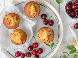 Vegan Cherry Muffins