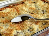 Veggies Gratin With Crispy Golden Parmesan Topping