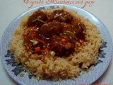 Vegetable Manchurian with gravy