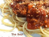 The Best Spaghetti Meat Sauce Recipe From Scratch