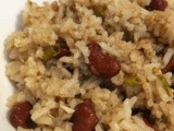 Vegetarian Belizean Kidney Beans and Rice