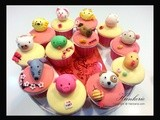 12 Zodiac cny Cupcakes for Charity - Original designed by Hankerie
