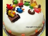 1st Ever Angry Birds Birthday Cake