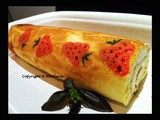 Creative Strawberry Swiss Roll