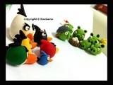 Edible Angry Birds Icing Figures - by Hankerie