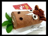 Horse Swiss Roll for cny 2014