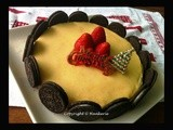 Oreo Mango Japanese Cheese Cake
