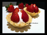 Pâte sucrée (French sweet pastry) - Strawberry tart