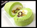 Sun Gold Kiwi Swiss Roll