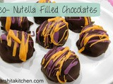 3 Ingredients Oreo & Nutella Filled Chocolate Balls, Oreo Cookie Balls, Nutella Balls | No Bake Dessert Recipe