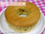 Vanilla Chiffon Cake Without Cream of Tartar// Basic Vanila Sponge Cake, Simple Chiffon Cake Recipe